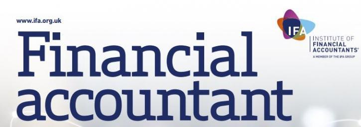 Financial Accountant Magazine banner