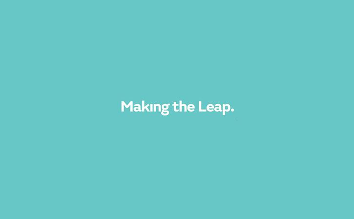 Making the Leap logo