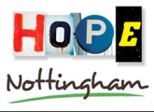 PR & Communications Trustee for Hope Nottingham