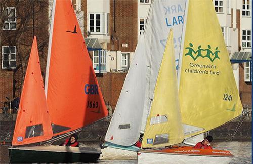 Tideway Sailability sail boats